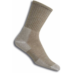 Thorlos Ultra Light Hiking Crew Socks cornstalk brown
